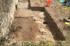 Overview of excavations